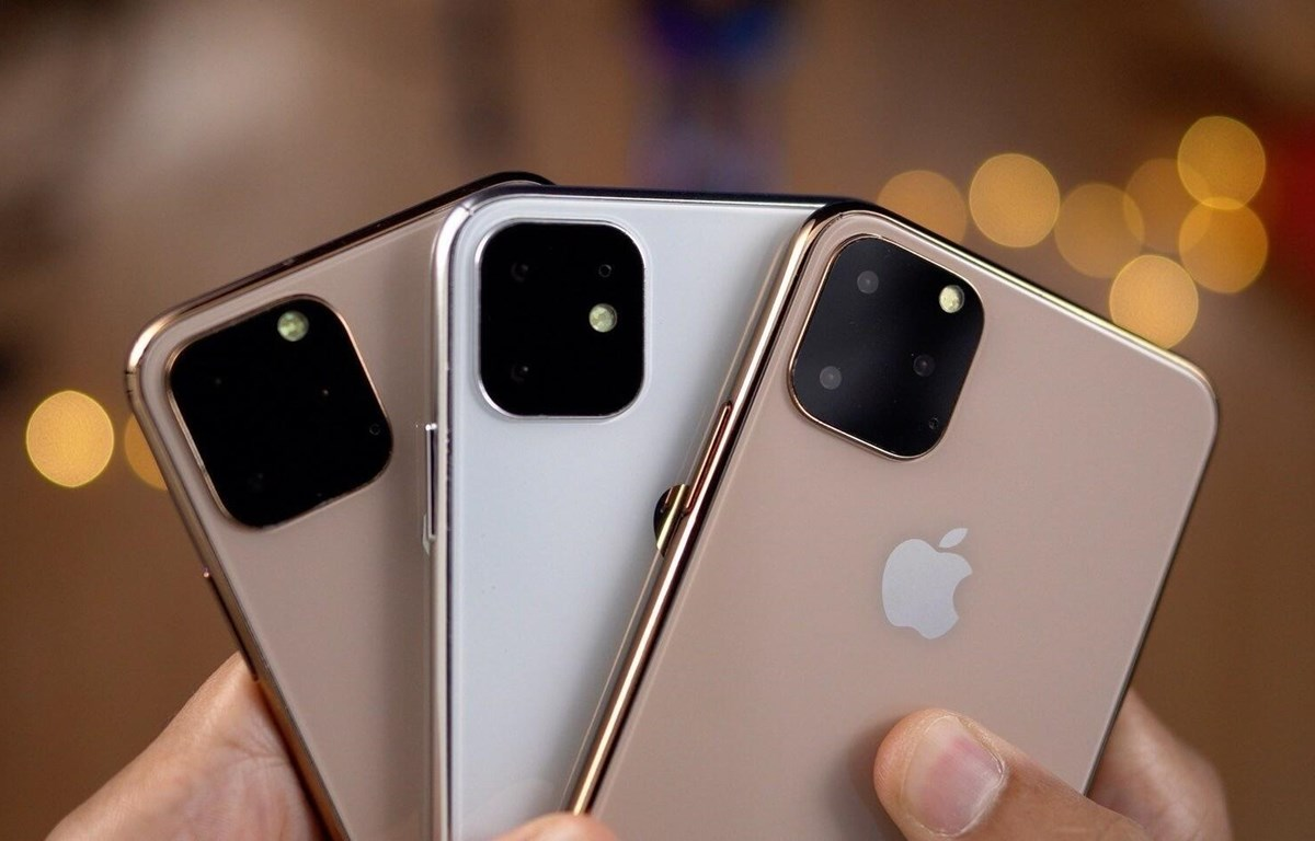 Mẫu iPhone thế hệ 2019 bị rò rỉ. (Nguồn ảnh: Techspot.com)