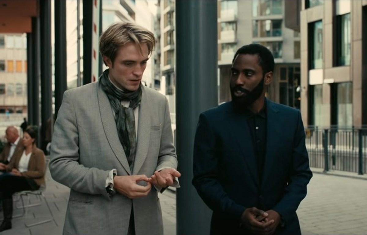John David Washington và Robert Pattinson trong Tenet (Nguồn: WB)