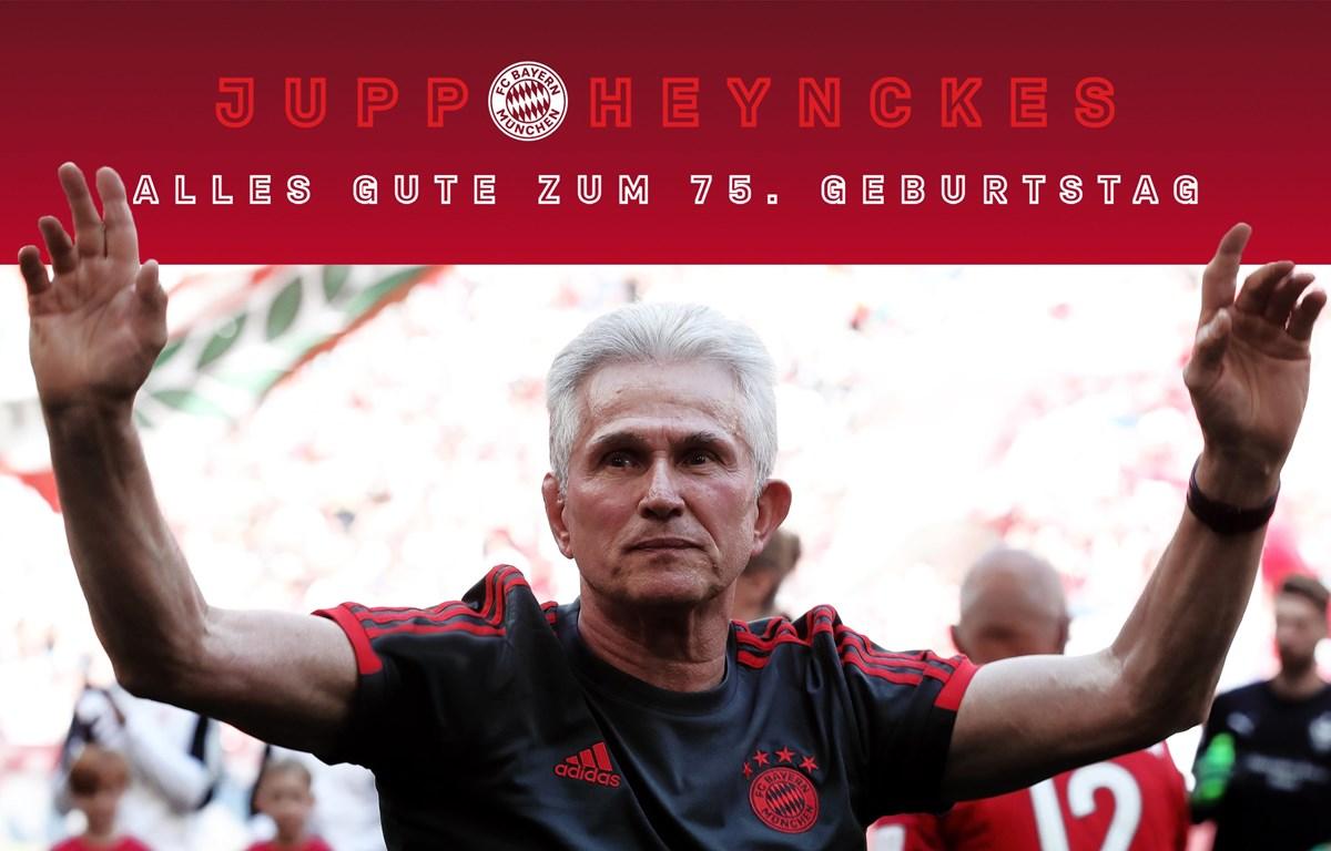 Jupp Heynckes bước sang tuổi 75. (Nguồn: fcbayern)