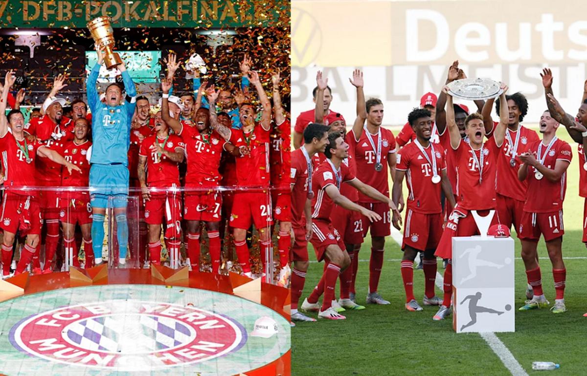 FC Bayern giành cú đúp liên tiếp hai mùa 2018-19 và 2019-20 (Ảnh: Nguồn FCB.de)