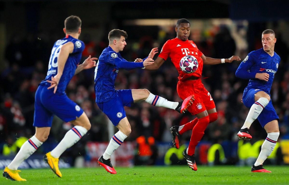 Chelsea sau trận thua ở lượt đi 0-3 sẽ quyết đấu  với Bayern để tranh vé vào tứ kết Champions League vào 2 giờ sáng 8/8 tới. (Nguồn: Getty Images)