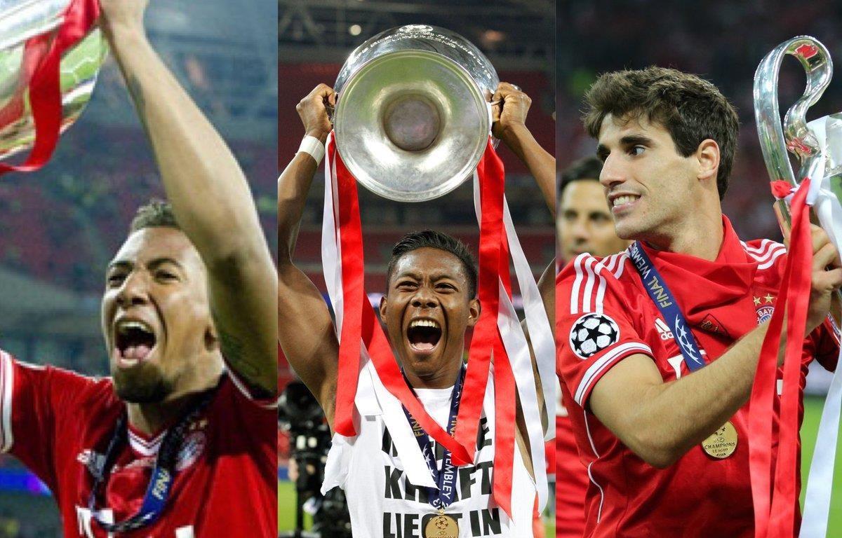 Boateng, Alaba và Martinez rời Bayern khi mùa này khép lại. (Nguồn: twitter)