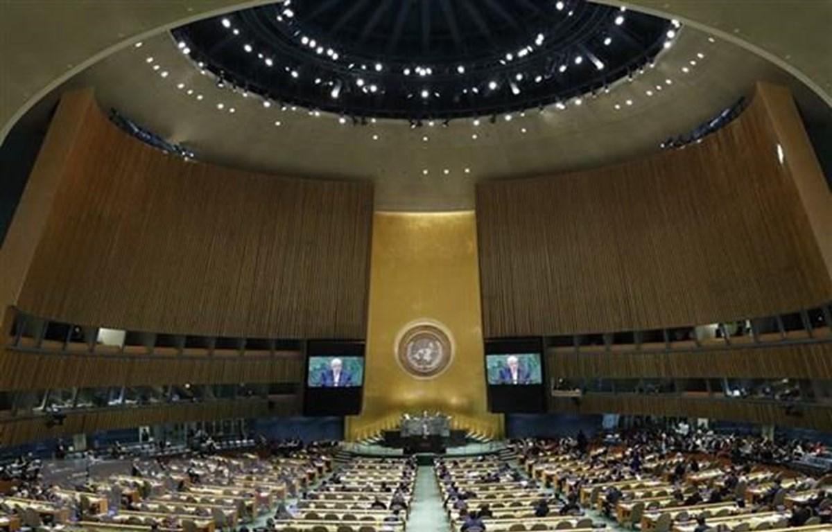 Một phiên họp của Liên hợp quốc ở New York, Mỹ. (Ảnh: THX/TTXVN)