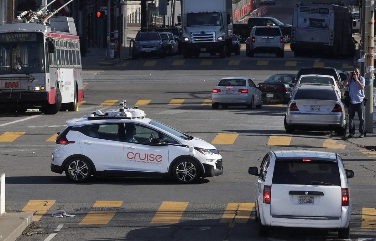 Một buổi thử xe tự lái. (Nguồn: Daily Mail)