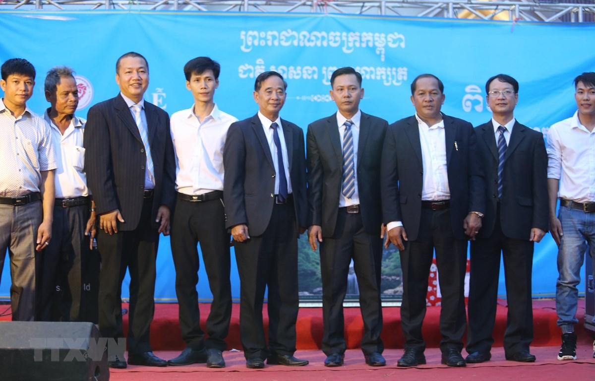 Ban chấp hành Hội Khmer-Việt Nam chi nhánh tỉnh Preah Vihear. (Nguồn: TTXVN)