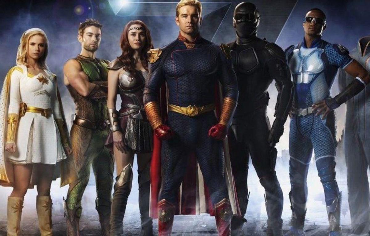"""Những siêu anh hùng biến chất trong """"The Boys"""". (Nguồn: Syfy Wire)"""