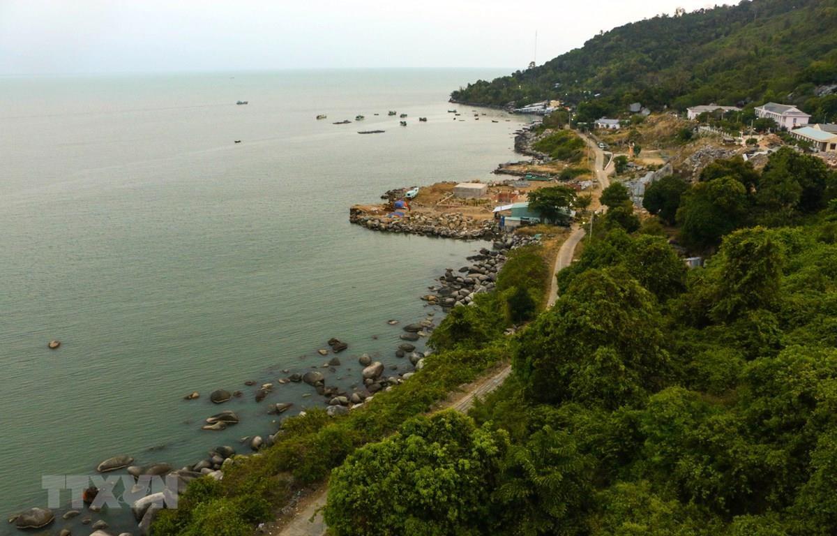 Huyện đảo Kiên Hải. (Ảnh: Duy Khương/TTXVN)