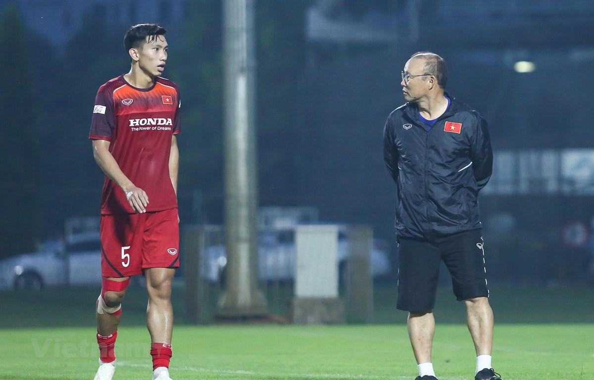 Huấn luyện viên Park Hang-seo hoàn toàn bất ngờ với quyết định sang Hà Lan thi đấu của Đoàn Văn Hậu. (Ảnh: Nguyên An)