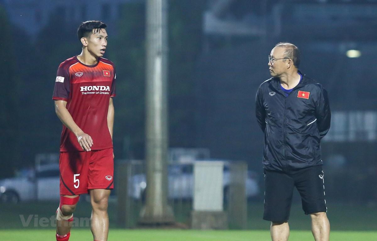 Đoàn Văn Hậu khó có thể chơi trọn vẹn 90 phút trong trận đấu với Thái Lan ngày 5/9 tới đây. (Ảnh: Nguyên An)
