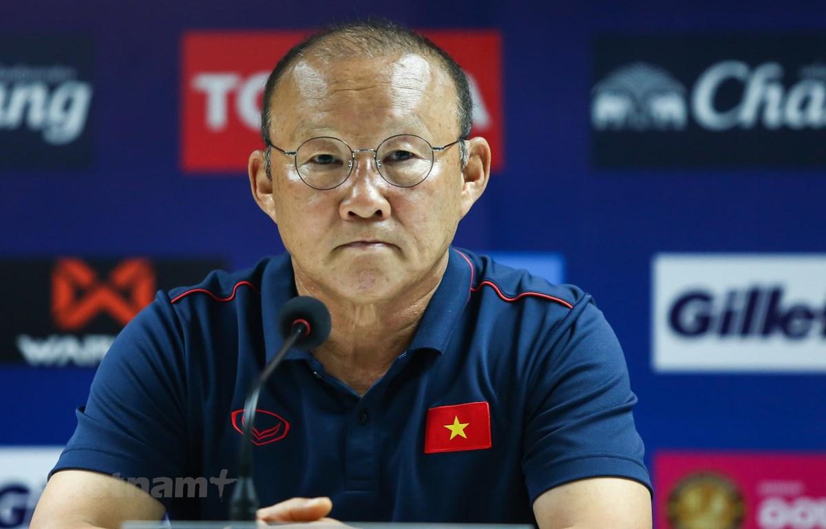 HLV Park Hang-seo sẽ chỉ đạo trực tiếp U22 Việt Nam thi đấu giao hữu với U22 Trung Quốc lúc 17 giờ chiều 8/9. (Ảnh: Nguyên An)