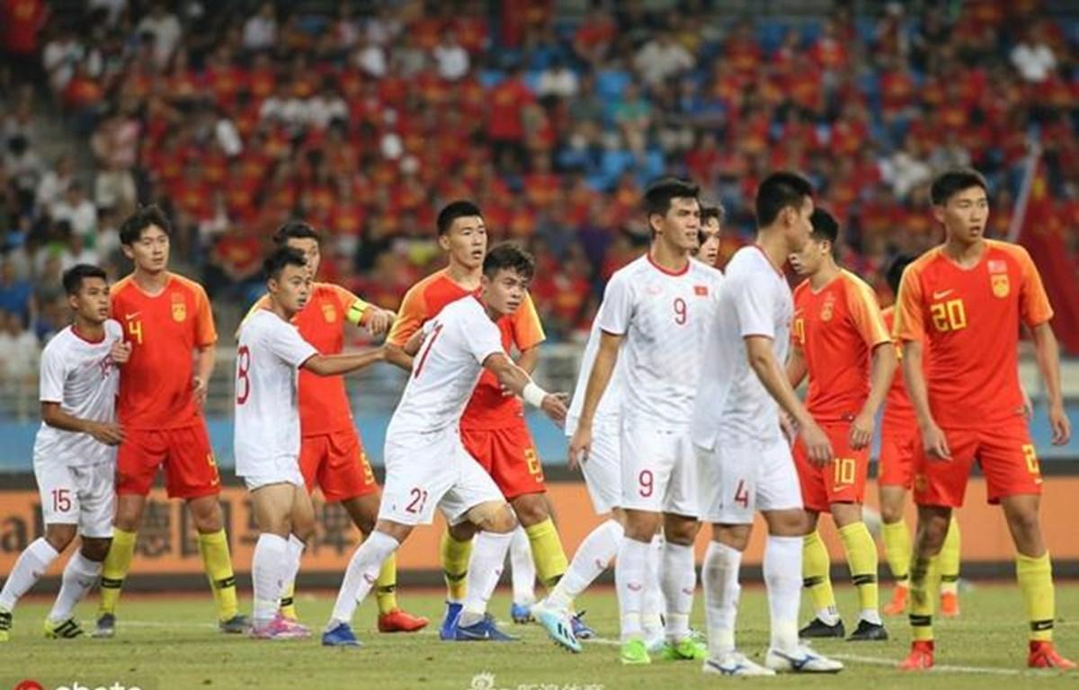 U22 Việt Nam thắng U22 Trung Quốc cách biệt với tỷ số 2-0 nhờ cú đúp bàn thắng của tiền đạo Tiến Linh.