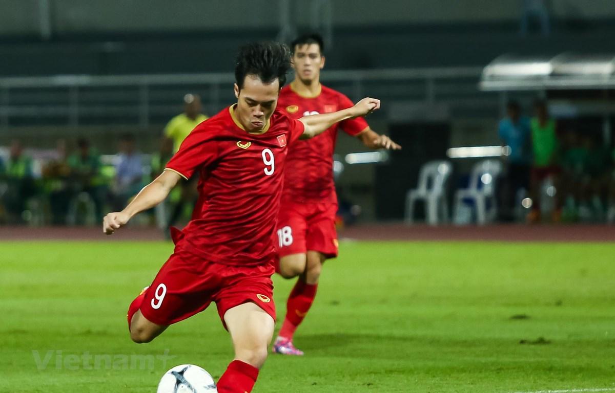 Vé trận đấu giữa Việt Nam và Malaysia diễn ra ngày 10/10 sẽ được mở bán đầu tiên vào ngày 19/9 tới. (Ảnh: Nguyên An)