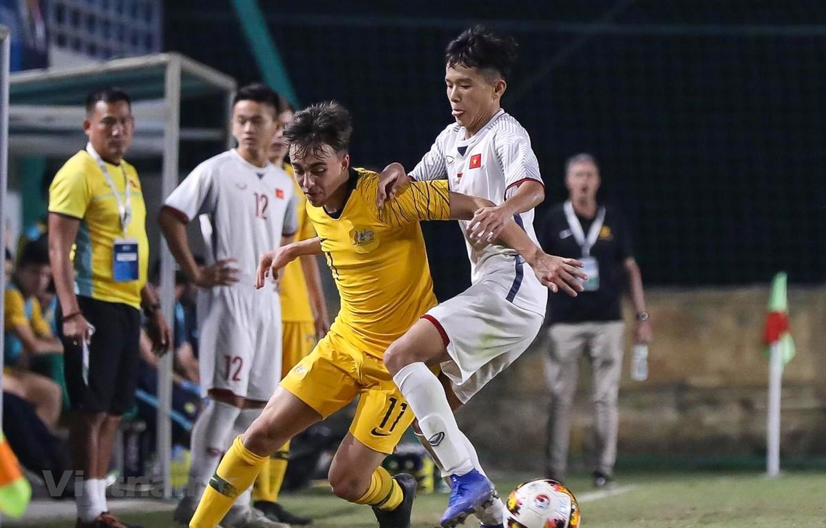 U16 Việt Nam để thua đáng tiếc 1-2 trước U16 Australia, qua đó chưa thể giành vé đi tiếp tới với Vòng chung kết U16 châu Á 2020. (Ảnh: Như Đạt)