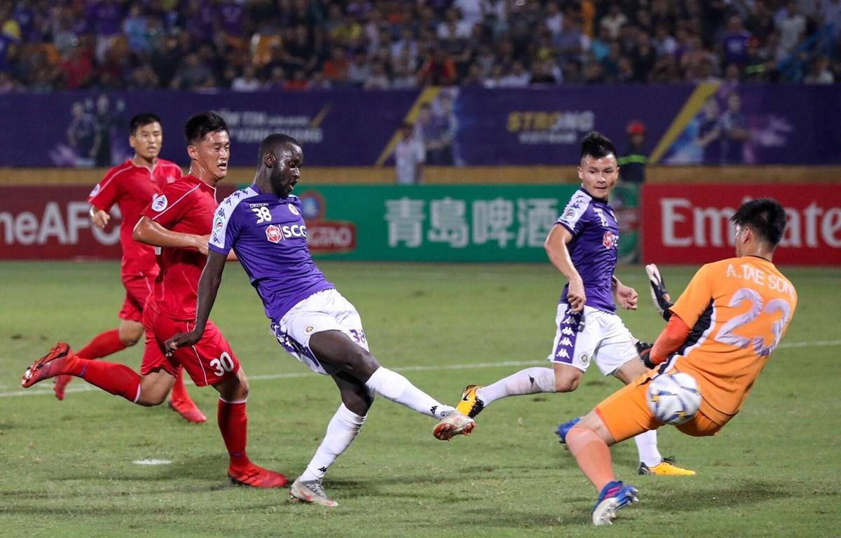 Hà Nội FC dừng bước tại AFC Cup 2019 bởi luật bàn thắng sân khách sau hai lượt trận chung kết liên khu vực. (Ảnh: Như Đạt)