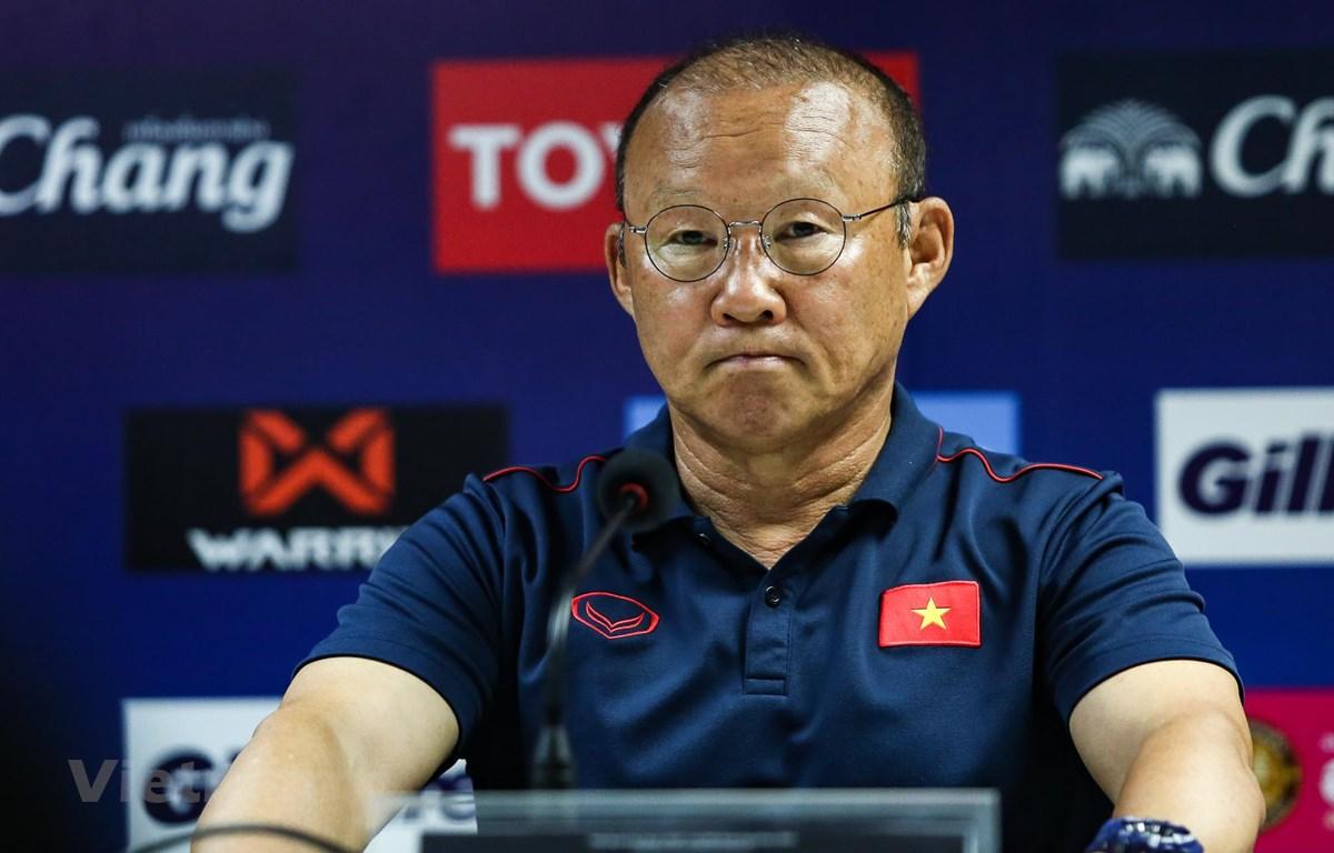 Huấn luyện viên Park Hang-seo tỏ ra yên tâm về Đoàn Văn Hậu nhưng lo lắng với Công Phượng sau khi cả hai vừa trở về từ châu Âu. (Ảnh: Nguyên An)