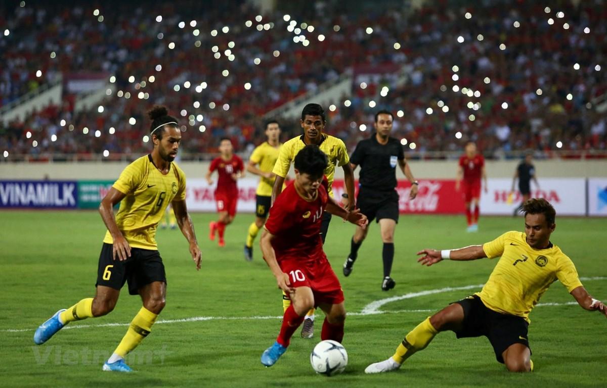 HLV Malaysia từ chối trả lời phỏng vấn báo chí sau thất bại 0-1 trước tuyển Việt Nam tại vòng loại World Cup 2022. (Ảnh: Nguyên An)