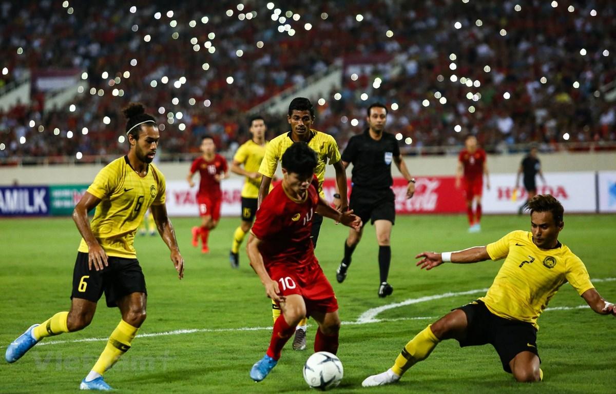 Huấn luyện viên Park Hang-seo hài lòng về Công Phượng cũng như các tiền đạo tuyển Việt Nam. (Ảnh: Nguyên An)