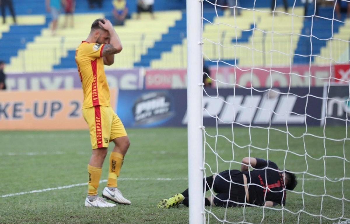 Thanh Hoá còn cơ hội mong manh để ở lại với đấu trường V-League sau mùa giải này. (Ảnh: N.Đ)