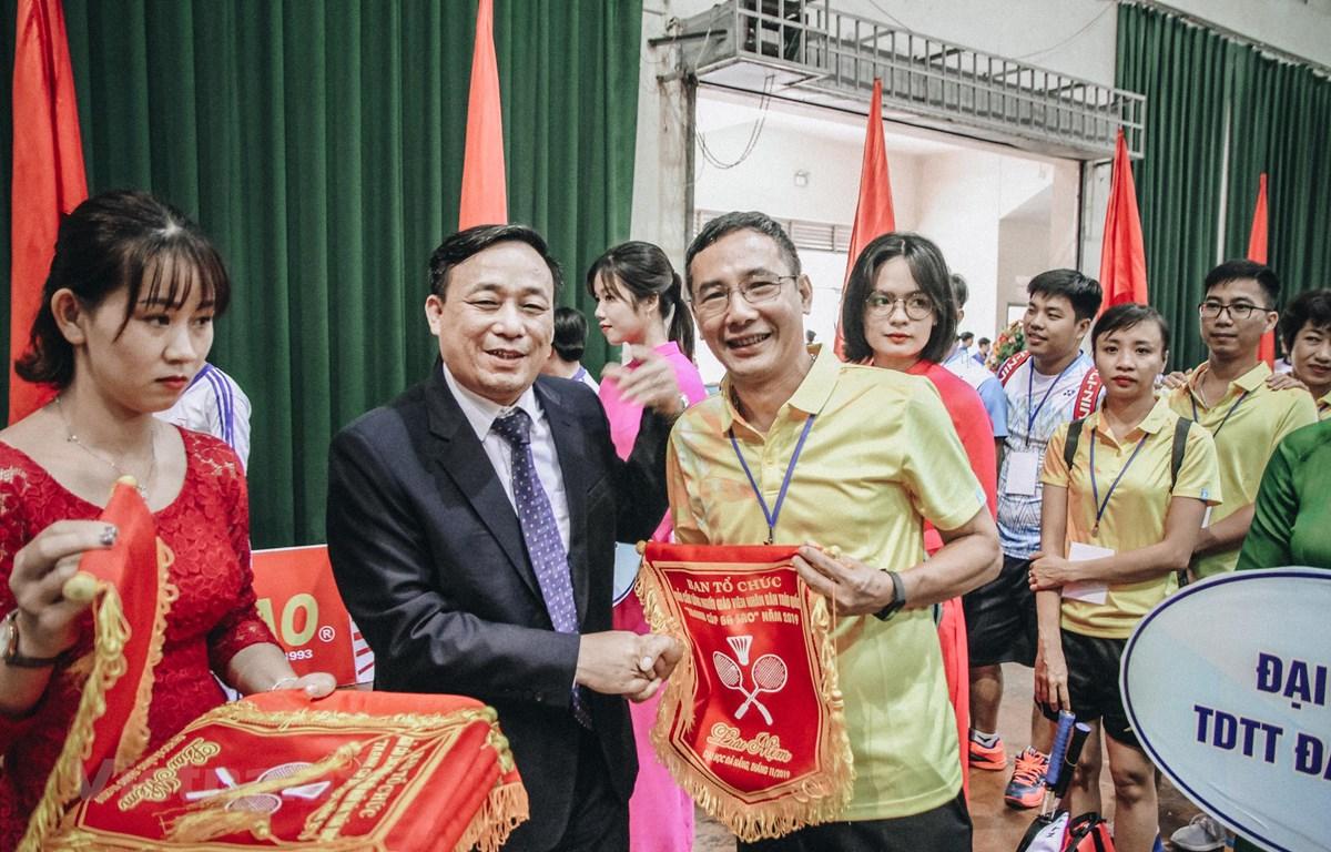Giải cầu lông Người giáo viên nhân dân toàn quốc 2019 mang ý nghĩa đẹp, chào mừng ngày Nhà giáo Việt Nam 20/11 tới. (Ảnh: BTC)
