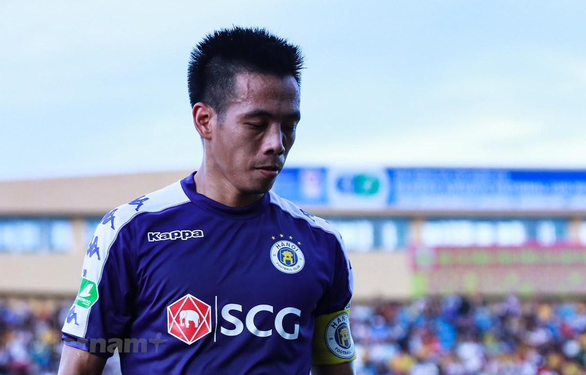 Tiền đạo Văn Quyết không giành danh hiệu Cầu thủ xuất sắc nhất V-League 2019 vì thi đấu không đủ số trận và đã phải nhận nhiều án phạt. (Ảnh: Nguyên An)