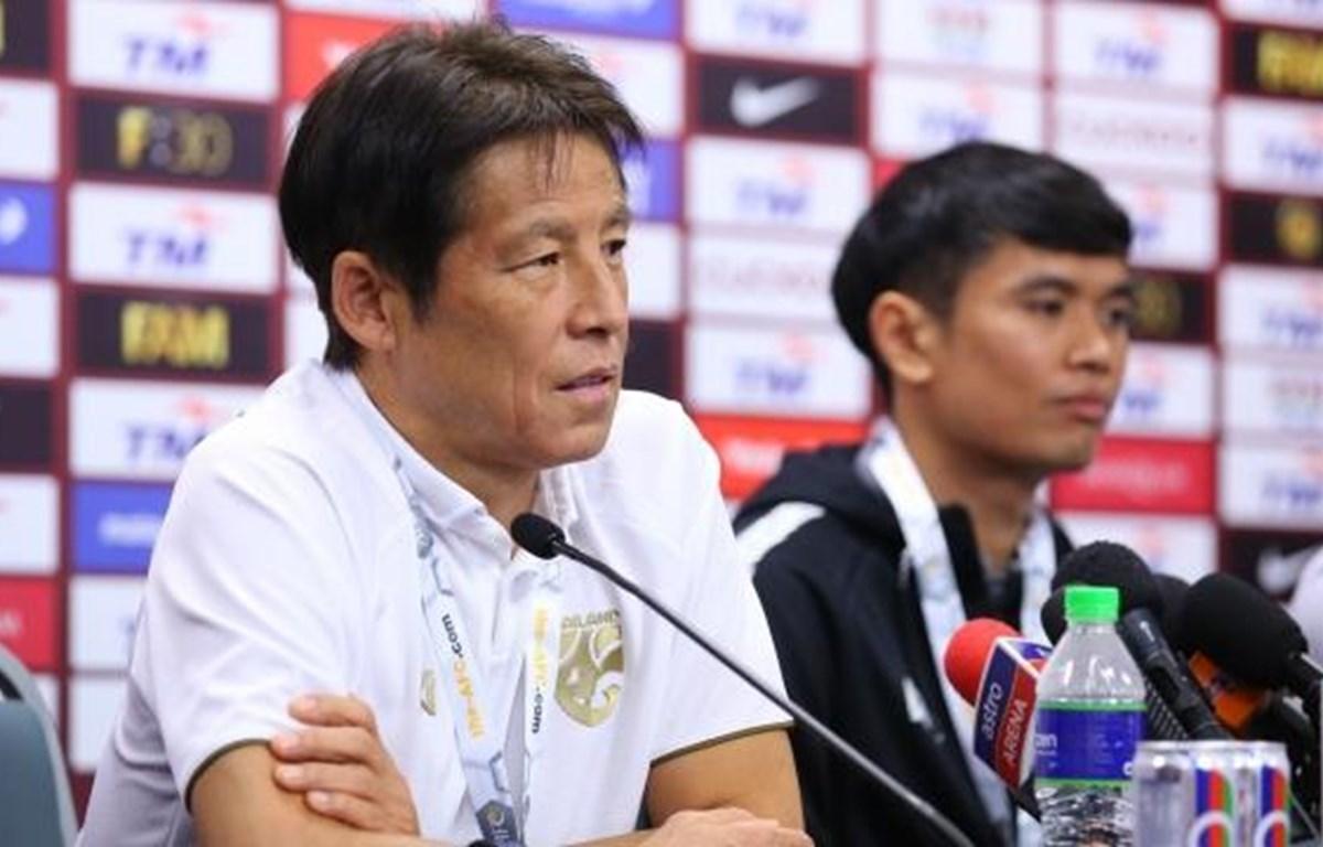 Huấn luyện viên Akira Nishino cho rằng thắng hay thua Việt Nam không quá quan trọng với tuyển Thái Lan trong chiến dịch vòng loại World Cup 2022. (Ảnh: Siamsport)