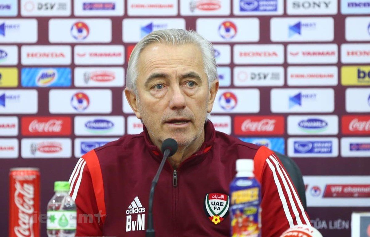Huấn luyện viên trưởng đội tuyển UAE muốn phục thù sau thất bại trước Việt Nam. (Ảnh: Nguyên An)
