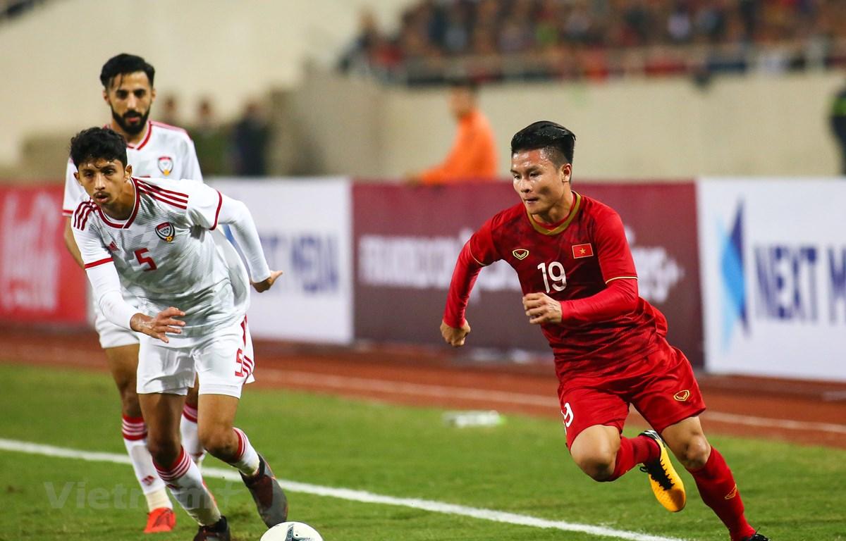 Virus corona ảnh hưởng tới tuyển Việt Nam ở vòng loại World Cup 2022. (Ảnh: Nguyên An/Vietnam+)