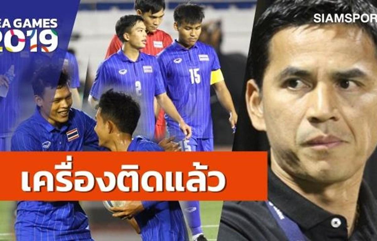 Huấn luyện viên Kiatisuk khen ngợi thắng lợi của U22 Thái Lan trước U22 Brunei chiều 28/11 tại bảng B môn bóng đá nam SEA Games 30. (Ảnh: Siam Sport)