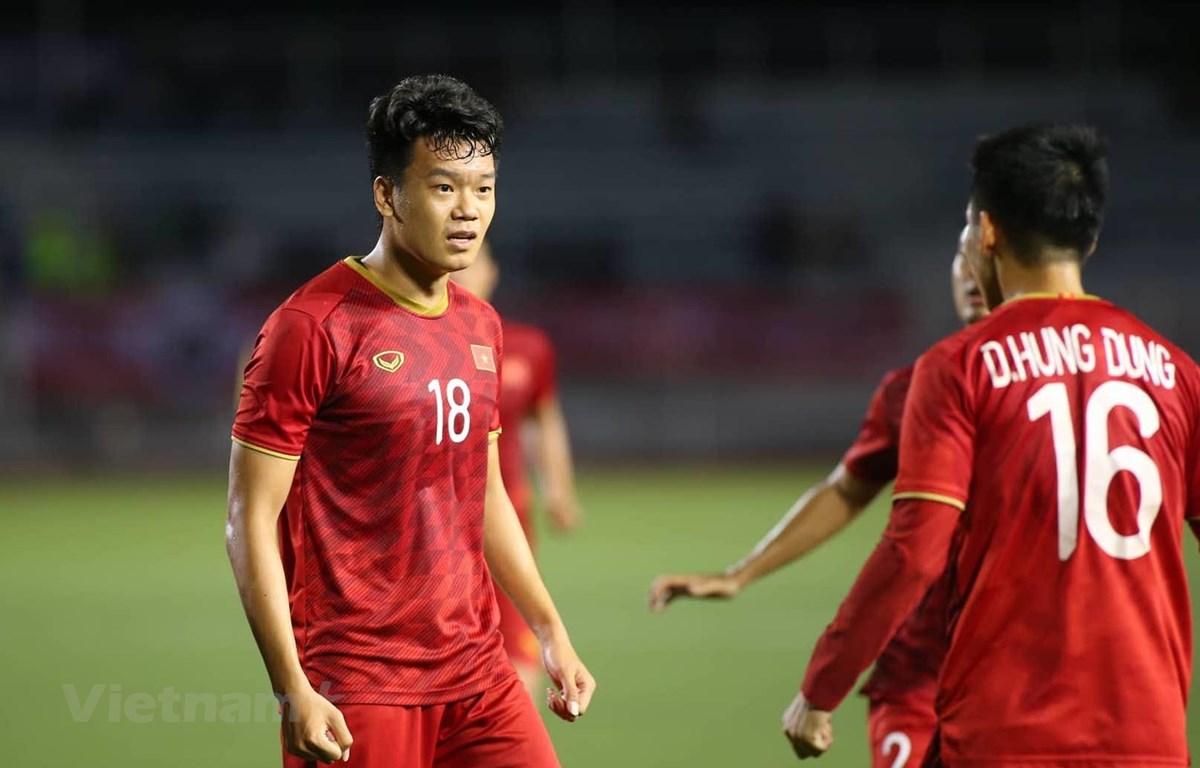 U22 Việt Nam có thể bị loại từ vòng bảng SEA Games 30 nếu chủ quan và để thua đậm U22 Thái Lan ở loạt trận cuối. (Ảnh: Vietnam+)