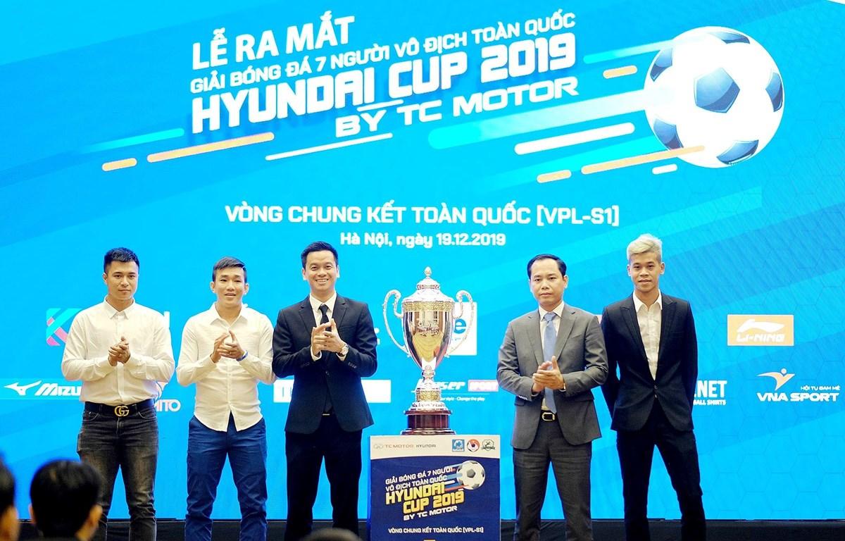 Vòng chung kết giải bóng đá 7 người vô địch toàn quốc (VPL-S1) sẽ diễn ra trong hai ngày 21 và 22/12 tại sân vận động C500 (Hà Đông, Hà Nội). (Ảnh: Vietfootball)