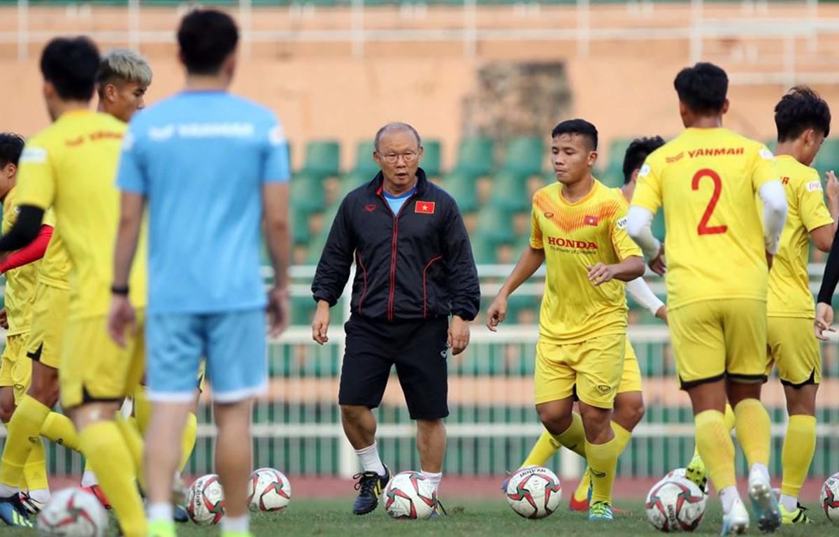 Huấn luyện viên Park Hang-seo chốt danh sách U23 Việt Nam gồm 25 cầu thủ trước ngày lên đường dự VCK U23 châu Á 2020. (Ảnh: VFF)