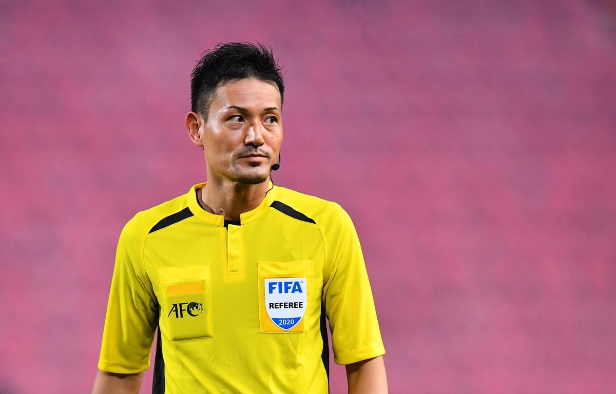 Trọng tài Sato Ryuji sẽ bắt chính trận U23 Việt Nam gặp U23 Jordan. (Ảnh: AFC)