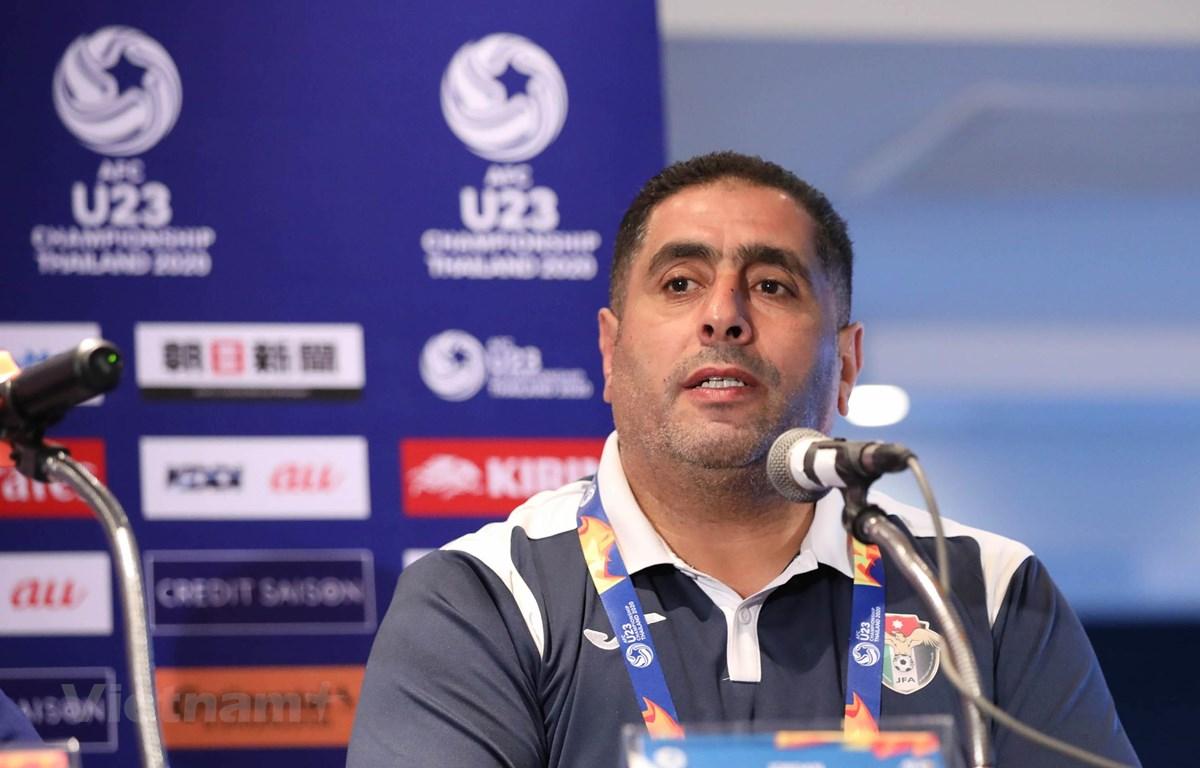 Huấn luyện viên U23 Jordan tự tin tìm thấy điểm yếu của U23 Việt Nam. (Ảnh: Nguyên An/Vietnam+)