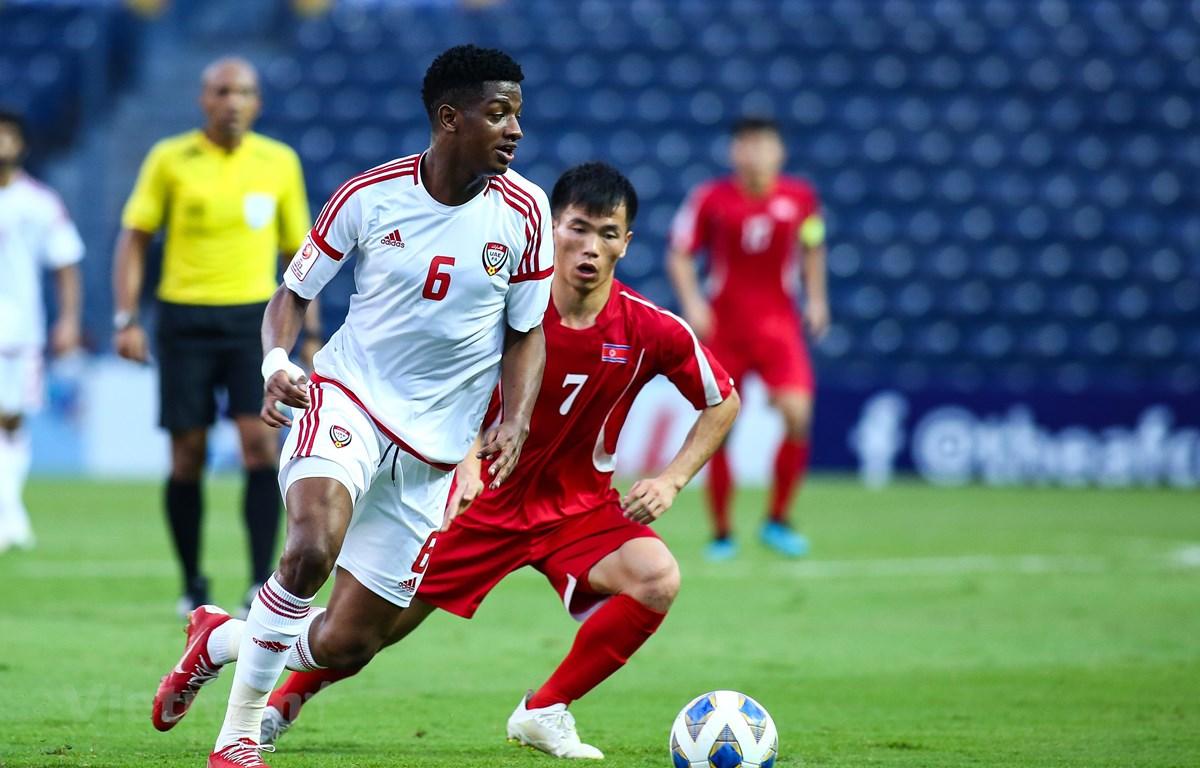 U23 UAE muốn thắng U23 Jordan ở lượt trận cuối cùng bảng D. (Ảnh: Nguyên An/Vietnam+)