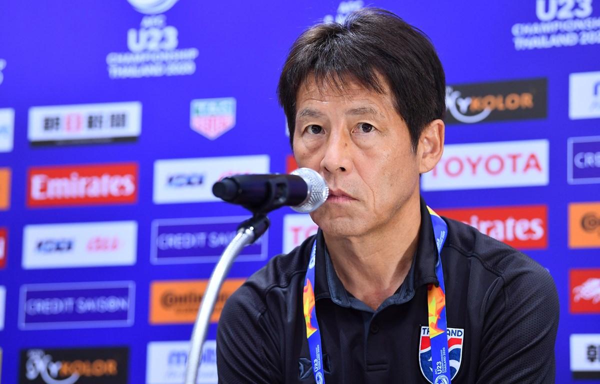 Huấn luyện viên Akira Nishino muốn đưa tuyển Thái Lan vượt mặt Việt Nam để vượt qua vòng loại hai World Cup 2022. (Ảnh: AFC)