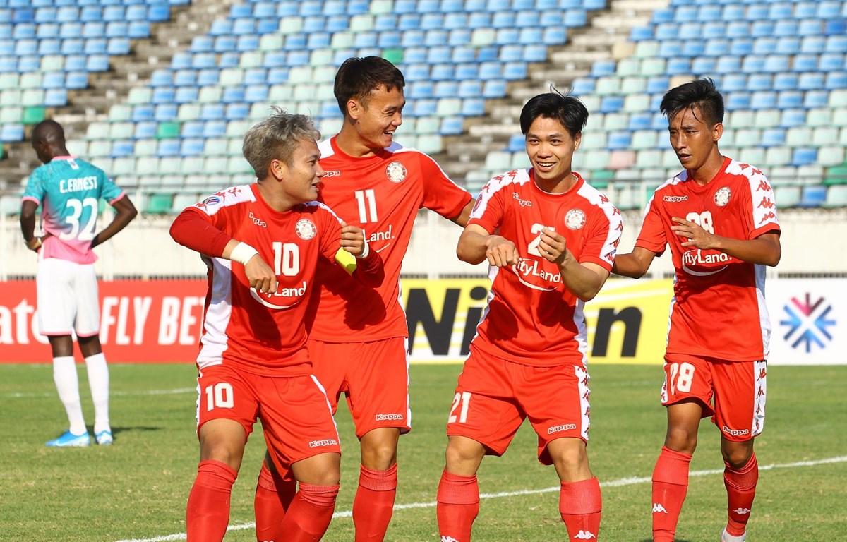 Công Phượng đang chơi tốt ở Thành phố Hồ Chí Minh sau khi trở về từ Bỉ. (Ảnh: AFC)