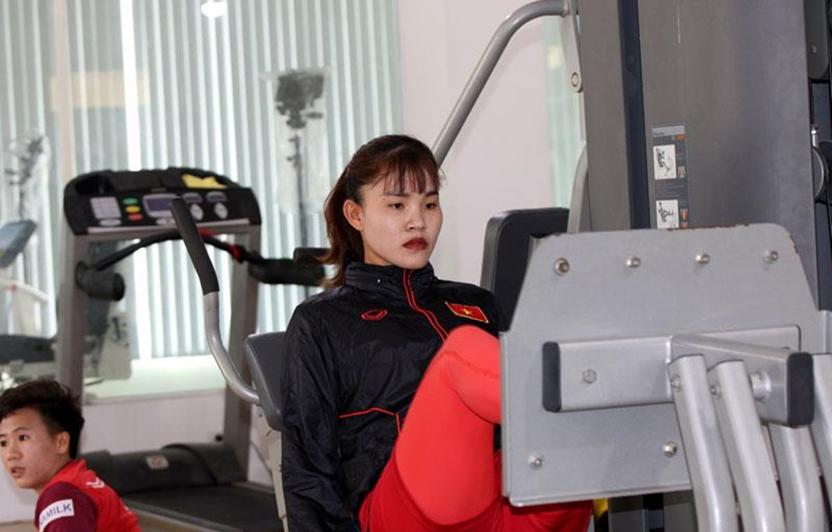 Trung vệ Chương Thị Kiều gặp chấn thương đứt dây chằng chéo trước đầu gối và cần 5-6 tháng để bình phục hoàn toàn. (Ảnh: VFF)