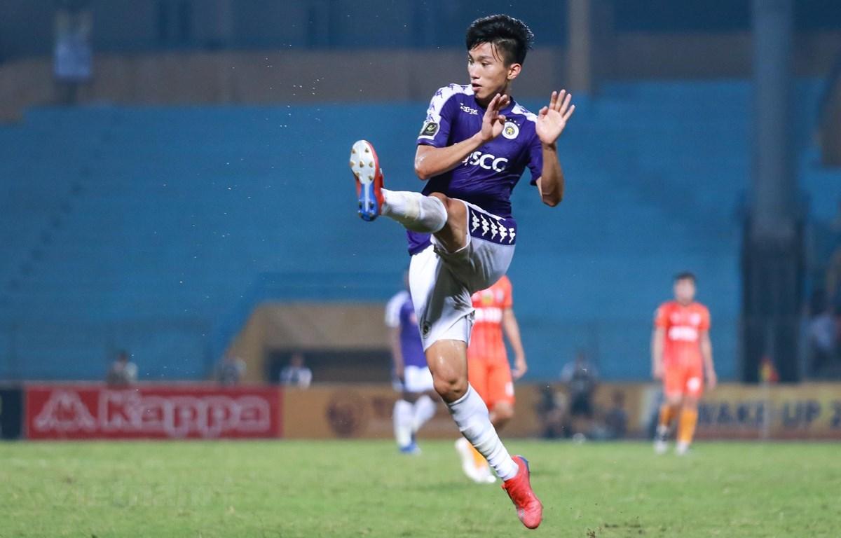 Đoàn Văn Hậu là trường hợp cầu thủ Việt xuất ngoại thi đấu ấn tượng nhất của Hà Nội FC. (Ảnh: Nguyên An/Vietnam+)