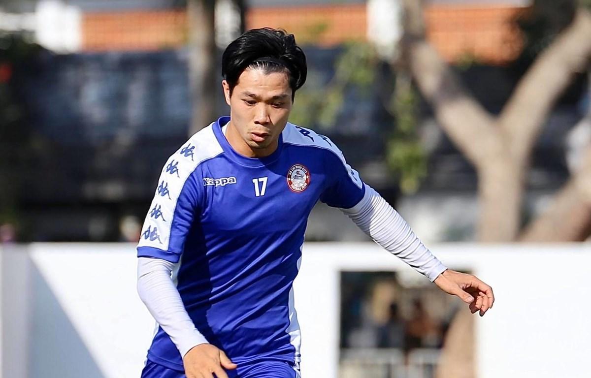 Công Phượng nhiều khả năng tiếp tục gắn bó lâu dài với câu lạc bộ Thành phố Hồ Chí Minh sau khi hết hợp đồng hiện tại. (Ảnh: CLB TP.HCM)