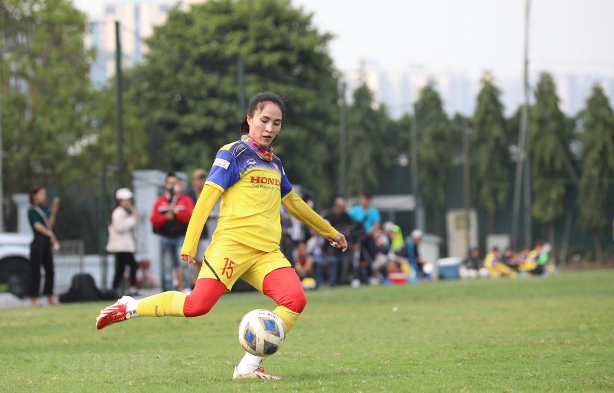 Đối thủ Australia đánh giá cao tuyển nữ Việt Nam trước trận đấu ở vòng play-off tranh vé dự Olympic Tokyo 2020. (Ảnh: Nguyên An/Vietnam+)
