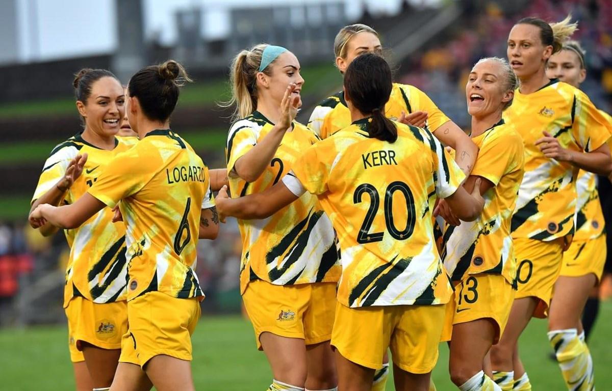 Tuyển nữ Việt Nam thua Australia ở lượt đi vòng play-off Olympic ...
