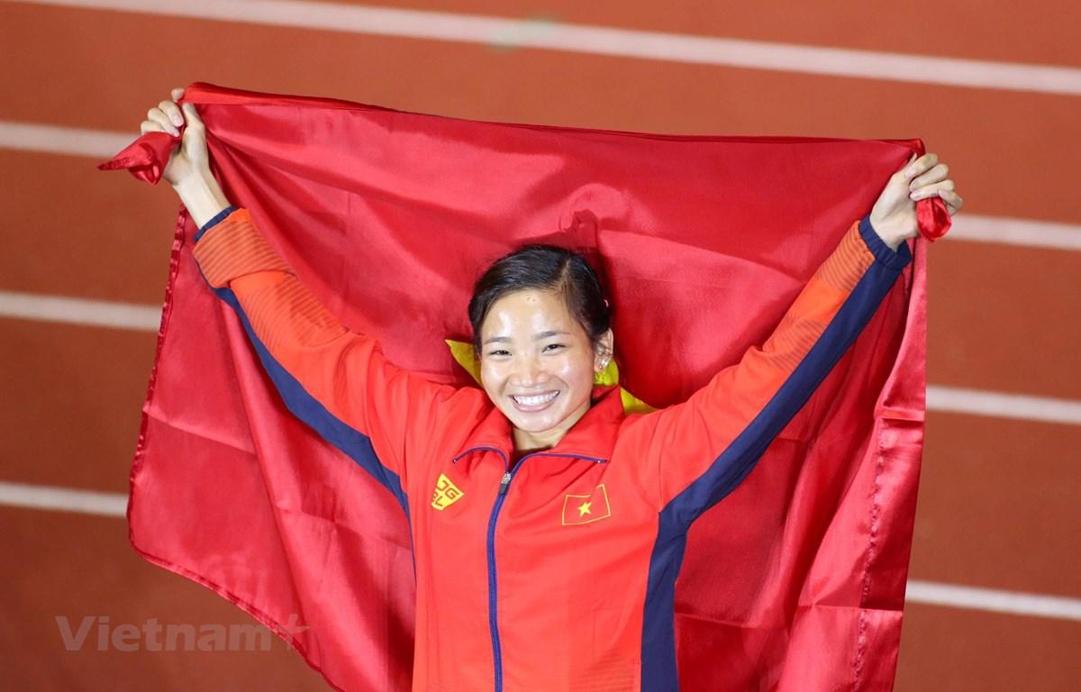 Các vận động viên nữ là đầu tàu của thể thao Việt Nam ở các giải đấu khu vực và châu lục. (Ảnh: Nguyên An/Vietnam+)