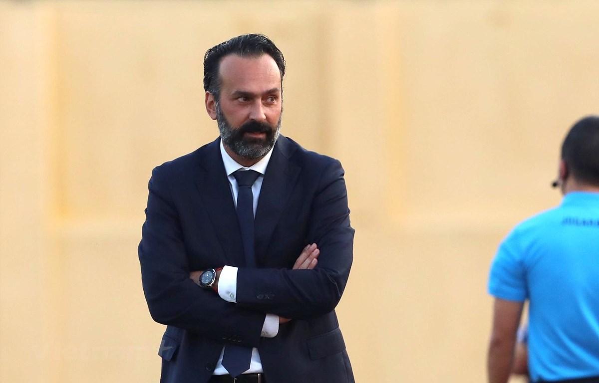 Câu lạc bộ Thanh Hóa sa thải huấn luyện viên Fabio Lopez vì bất đồng ngôn ngữ và phong cách làm việc với cầu thủ. (Ảnh: Nguyên An/Vietnam+)
