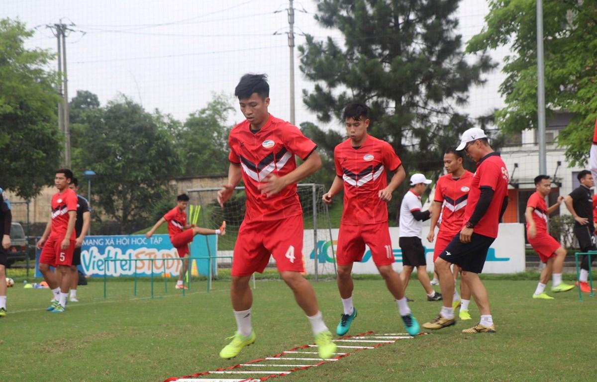 Viettel FC trở lại tập luyện sớm nhờ có trung tâm huấn luyện riêng biệt. (Ảnh: Viettel FC)