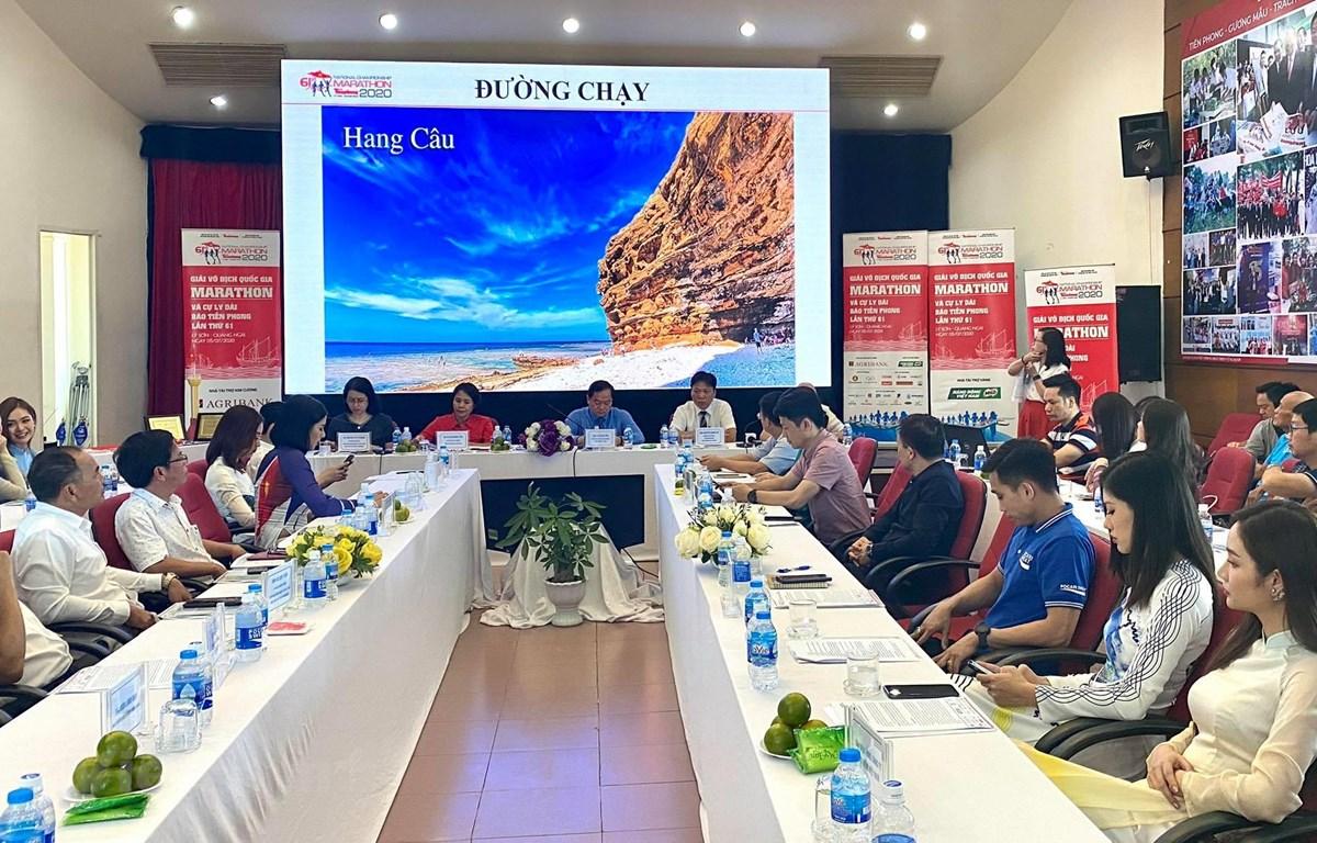 Giải Vô địch Quốc gia Marathon và cự ly dài 2020 sẽ diễn ra tại đảo Lý Sơn vào đầu tháng Bảy tới. (Ảnh: CTV/Vietnam+)