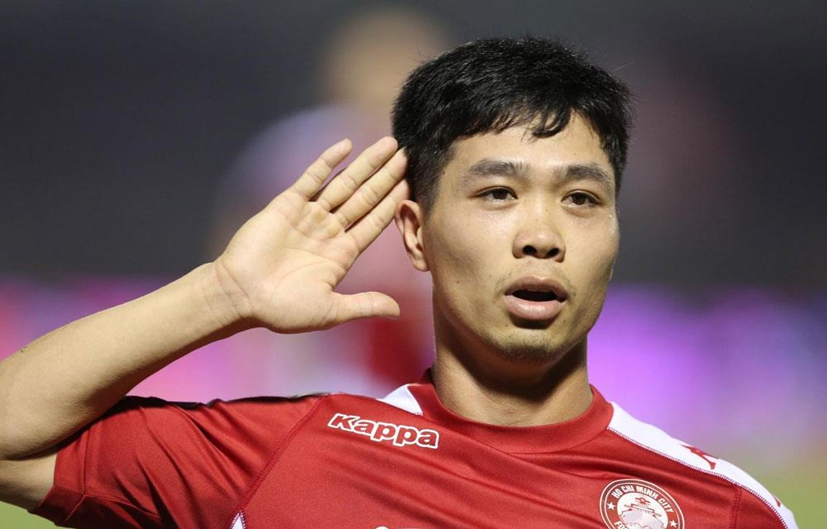 Công Phượng tiếp tục chơi ấn tượng với CLB TP.HCM ở V-League 2020. (Ảnh: VPF)