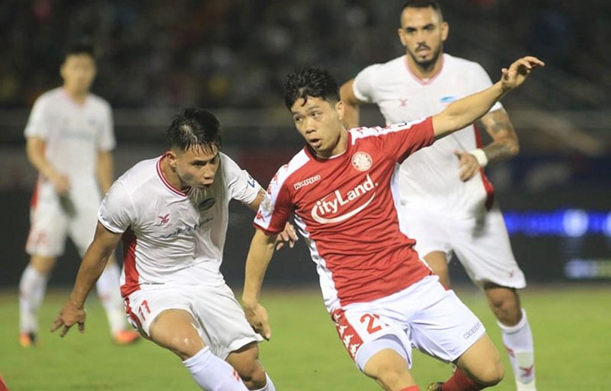 Công Phượng tỏa sáng trước Viettel ở vòng 5 V-League 2020 tối 17/6. (Ảnh: VPF)