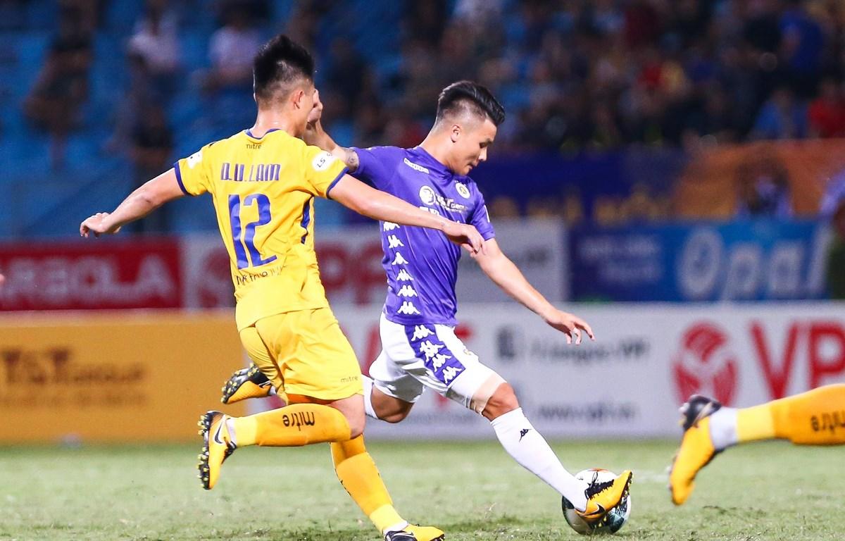 Vòng 6 V-League 2020 hứa hẹn nhiều trận đấu hấp dẫn. (Ảnh: Nguyên An/Vietnam+)