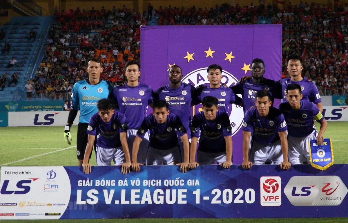 Hà Nội FC khủng hoảng về nhân sự với nhiều trường hợp chấn thương của các trụ cột. (Ảnh: Phúc Tá/Vietnam+)