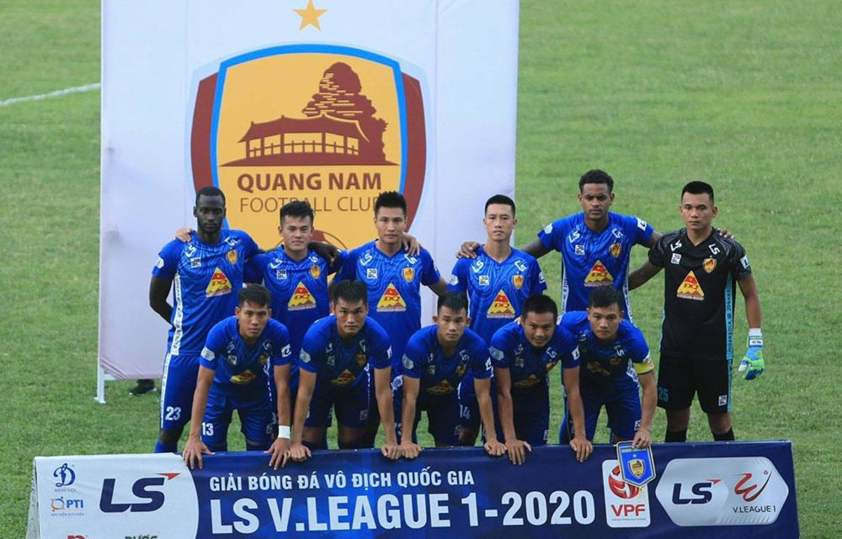 Câu lạc bộ Quảng Nam phải tự cách ly 14 ngày từ 26/7. (Ảnh: VPF)